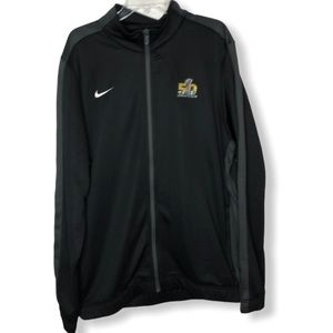 Men's Nike Dri-Fit 50th Super Bowl Zip Up …